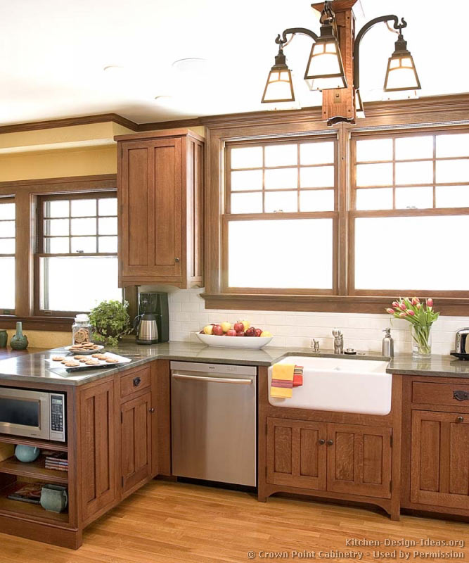 Kitchen Cabinets Traditional Light Wood 121 Cp003a Craftsman